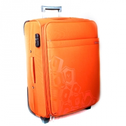 20441-20 Чемодан оранжевый