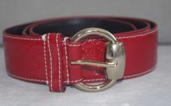 159618 Ремень Gucci красный