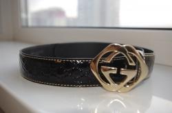 182320 Ремень Gucci черный