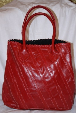 03330 Женская сумка красная
